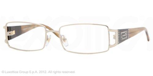 VersaceVersace VE1163B 1221 Eyeglasses Platinum Demo Lens 50-16-130