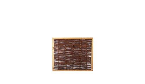 weiden zaun weiden z une als sichtschutz im ma 120 x 100 cm breite x h he mit. Black Bedroom Furniture Sets. Home Design Ideas