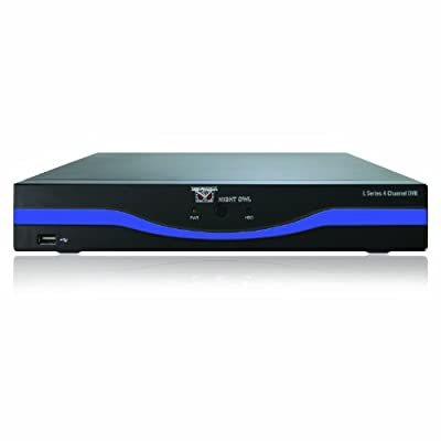 Night Owl Security L-DVR4-5GB 4-Channel 960H DVR with 500GB Hard Drive HDMI and Free Night Owl Lite App (Black)