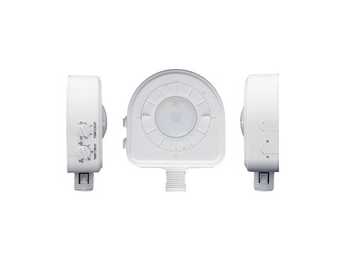 Leviton Osfhd-Caw Cold Storage, Alternating Dual Relays, Interchangeable Lenses, Led, 120/220/230/277/347V, Passive Infrared Occupancy Sensor, White
