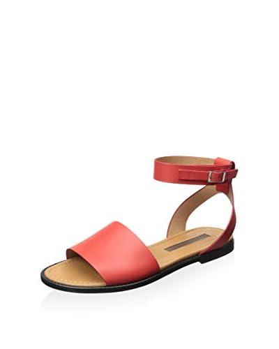 Modern Vintage Women's Rita Flat Sandal  [Red]