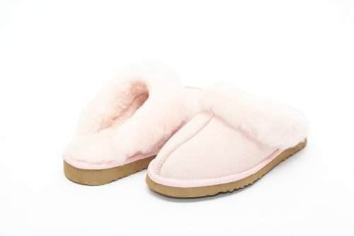Cheap UniKoala Women's Classic Sheepskin Slipper Pink (B0073V45GE)