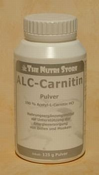 Acetyl - L - Carnitin Pulver 125 g