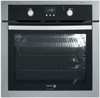 Fagor 5HA196X 24-Inch European Convection Oven, Stainless Steel/Glass
