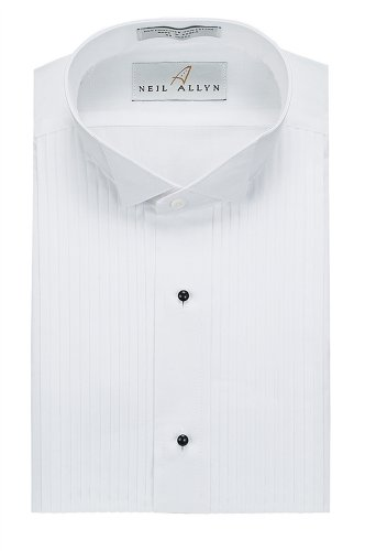 Tuxedo Shirt Collar Polyester Cotton