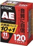 TDK �����ǥ��������åȥơ��� AE 120ʬ11���ѥå� [AE-120X11G]