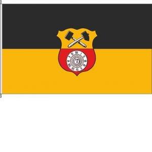 Königsbanner Kleinfahne Glashütte - 20 x 30cm - Flagge und Fahne