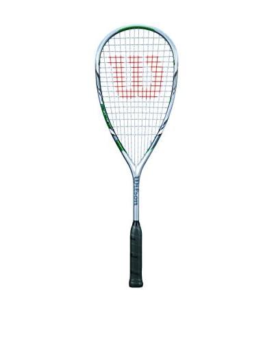 Wilson Squash Raqueta de Squash Force Pro 155 Sq Rkt 1/2 Cvr Verde / Plata