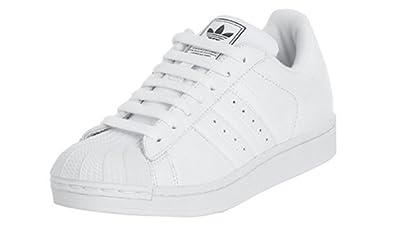 adidas Originals Women's Superstar II Basketball Shoe, White/White, 8 M