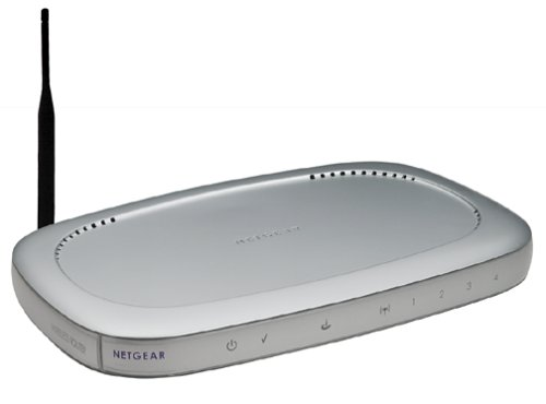 Netgear MR814 802.11b Wireless 4-Port Cable/DSL Router