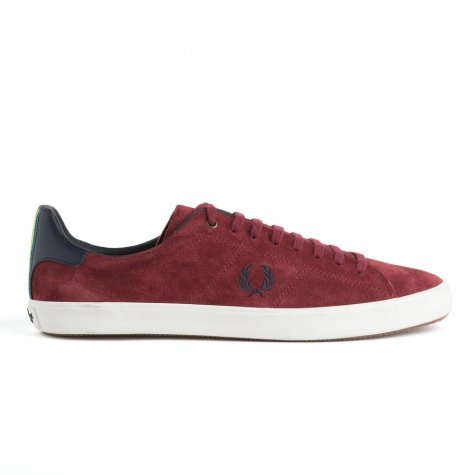 Fred Perry ,  Sneaker uomo Rosso Bordeaux 44