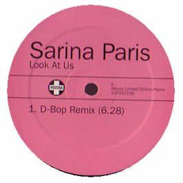 PARIS, SARINA - Look At Us - Promo - Maxi 45T