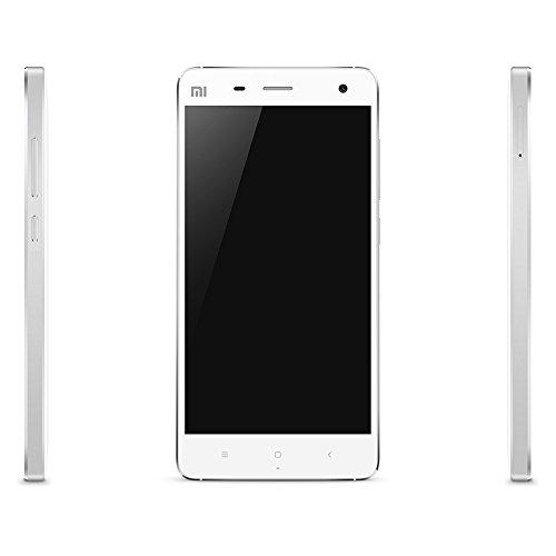 Xiaomi Mi4 SIMフリースマートフォン(LTE対応)4Gスマートフォーン FDD-LTE TDD-LTE IPS 1920 * 1080ピクセル● Android MIUI V6 搭載●5インチ/2.5GHz Qualcomm801クアッドコア/BT4.0/3GB RAM 16GB ROM 8MP 13MP/デュアルカメラ【並行輸入品】(ホワイト)