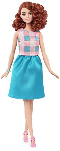 Barbie Fashionistas Doll 29 Terrific Teal - Tall (Red Barbie compare prices)