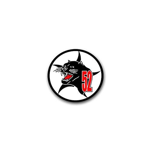 Aufkleber / Sticker - AG 52 Aufklärungsgeschwader Luftwaffe Luftaufklärung General-Thomsen-Kaserne Bundeswehr Wappen Abzeichen Emblem passend für VW Golf Polo GTI BMW 3er Mercedes Audi Opel Ford (7x7cm)#A1461