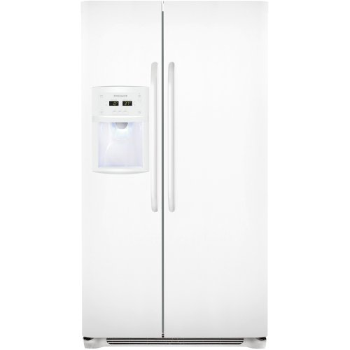 Frigidaire FFSC2323LP 22.6 Cu. Ft. Counter-Depth Side-by-Side Refrigerator - Pearl White
