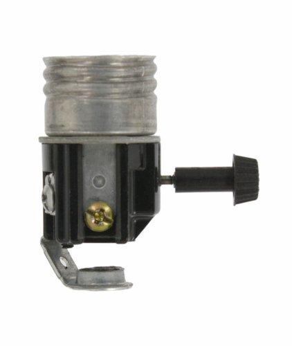 Images for Leviton 7098 Incandescent Lampholder, 250W-250V, Single Leg Bracket 1/8-27 Thread Inside Extrusion