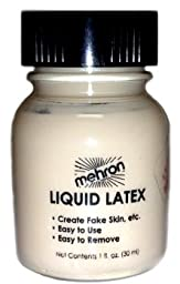 Mehron Liquid Latex 117 (1 Oz, Soft Beige)