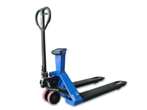 i-Liftequip XL20L Scale Pallet Truck with Printer, 5000 lbs Capacity, 45.27