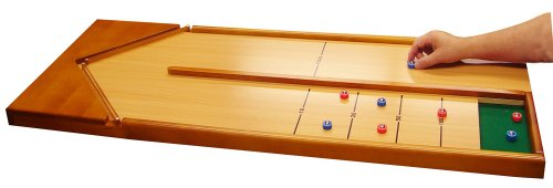 Ideal Wooden Tabletop Shuffleboard Game - 1