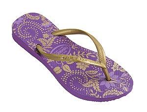 Cheap Havaianas Flip Flops Slippers Slim Season Purple US Size 4/5 (B000UZWJOA)