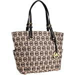 Michael Kors Grayson Signature / Monogram Tote Side
