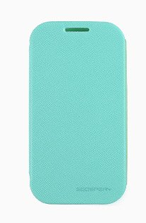 Note3 Case, Mercury Fancy Flip Style Diary Case For Samsung Galaxy Note3 (6 Colors) Wallet Style (At&T, Verizon, Sprint, T-Mobile) - Retail Packaging (Mint)