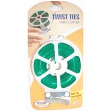 Bradshaw International 100'Twist Tie Dispenser (Pack Of Kitchen Gadgets Misc.