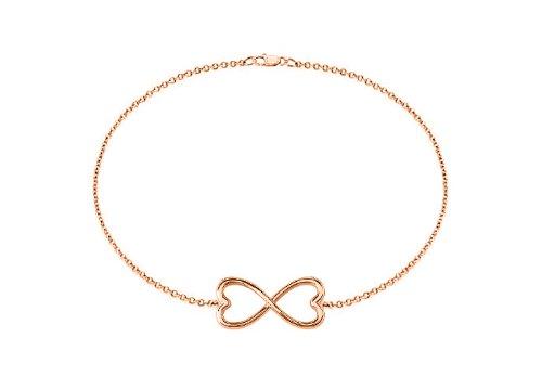 Infinity Bracelet in 14k