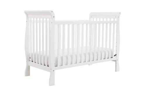 DaVinci Jamie 4-in-1 Convertible Crib, White - 1
