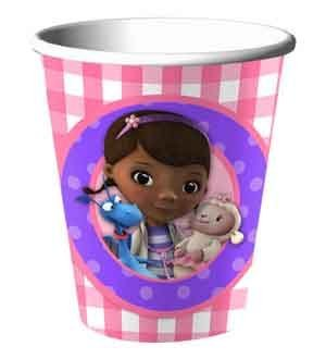 Disney Doc Mcstuffins Birthday Party 9 Oz Cups