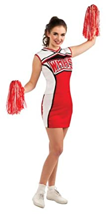 Glee Adult Cheerleader Costume, Standard Color, Standard