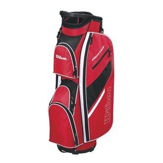 Wilson - Borsa Da Golf Colore Rosso/Nero