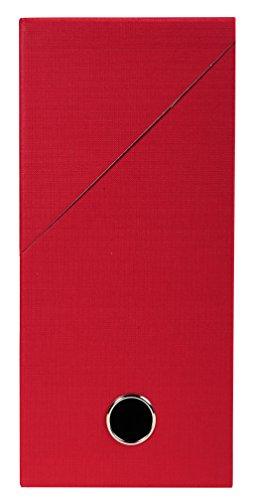 Exacompta 89425E Boite transfert toilée 12 cm Rouge