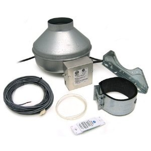 Fantech Dbf 4xlt Dryer Booster Kit W Fg 4xl Fan With Wall