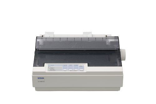 Epson LX 300+II - Printer - B/W - dot-matrix - JIS B4, 254 mm (width) - 9 pin - up to 337 char/sec - parallel, serial, USB
