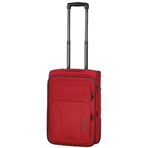 Esprit 50 cm Rot Basic Trolley Reisetasche Koffer 45 L