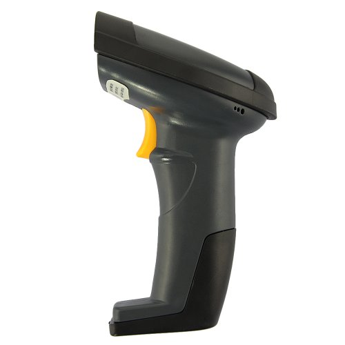 New Wired Handheld USB Automatic Laser Barcode Scanner Reader Stand Black 30-50m