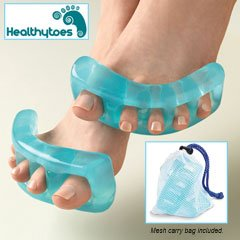 HealthyToes Toe Stretchers Small - End Foot Pain Bunions, Hammer Toe, Arches...