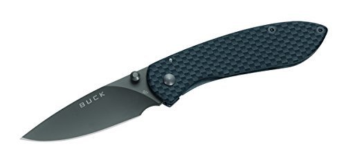 Buck 327CF Nobleman Carbon Fiber Frame Lock Folding Knife