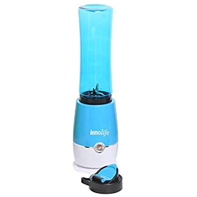 Juice Extractor Ice Frozen Fruit Vegetable Smoothie Drink Blender Mixer with Sports Bottle