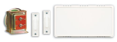 Best Price Heath Zenith 101 Wired Door Chime Contractor Kit with 2 Push Buttons and Transformer WhiteB0000BYBTZ