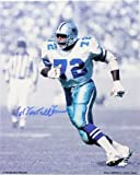 "Signed Jones, Ed ""Too Tall"" (Dallas Cowboys) 8x10 Photo Photo Amazon.com"