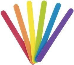 Foam Craft Sticks - Multi Color-4.5