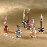 Egyptian Perfume Bottles S/6 ~ Eziba