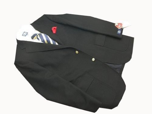 Jプレス(J.PRESS)秋冬春 トラッド1型紺ブレザー サキソニー
