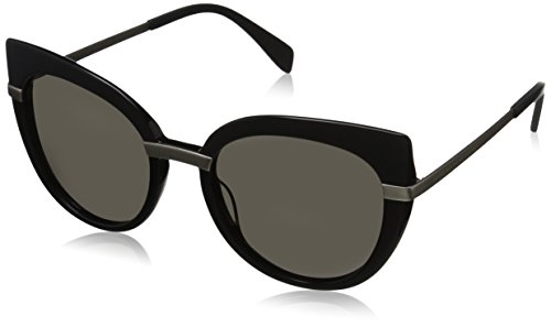 Marc by Marc Jacobs - MMJ 489/S, Cat eye, ACETATO, donna, BLACK LIGHT GOLD/BROWN GREY(RHP/NR),54/20/140