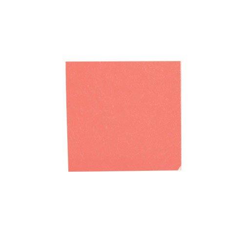 カラー純銀箔 #607 赤色 3.5㎜角×5枚