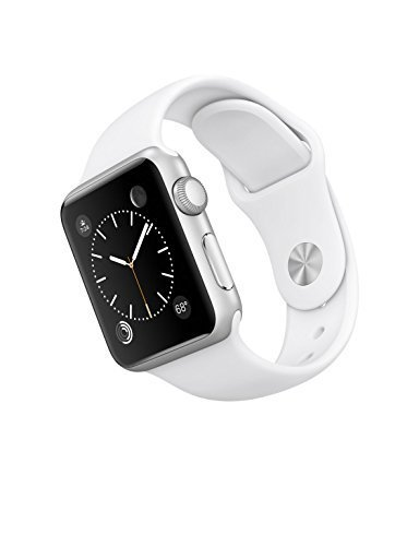 Apple-Watch-Sport-Silver-Aluminum-CaseWhite-Band-42mm