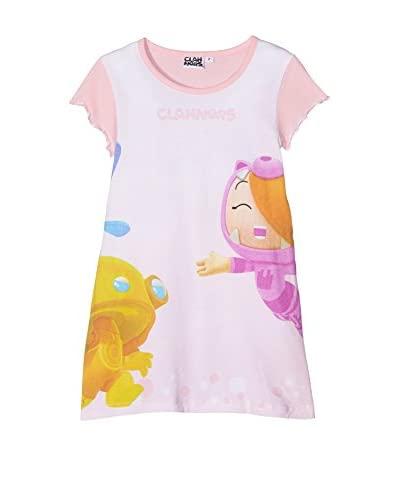 Licencias Pijama Clanners Rosa